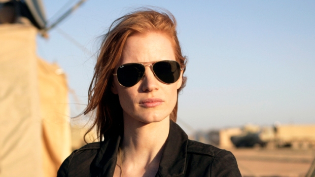 "[NATL] Jessica Chastain Says ""Zero Dark Thirty"" Most Difficult Experience"