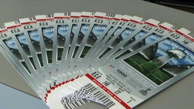 [DFW] Avoid Counterfeit Super Bowl Tickets