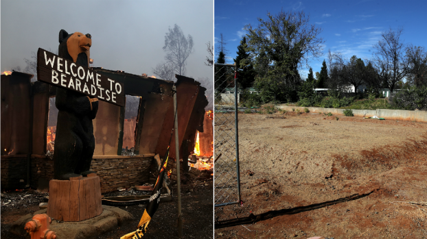 [BAY BW]Then and Now: Paradise 1 Year After Deadly Camp Fire