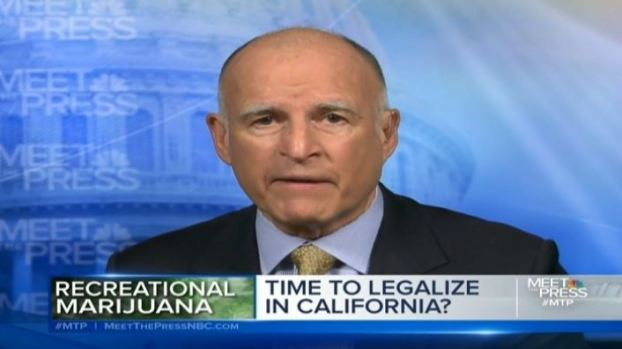 [BAY] Gov. Jerry Brown Unsure Legalizing Pot is Good Idea