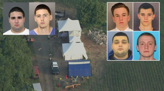Homicide charges filed in disappearance of four Pennsylvania men