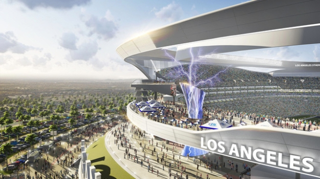Carson NFL Stadium Looks Shiny, But Nothing Is New