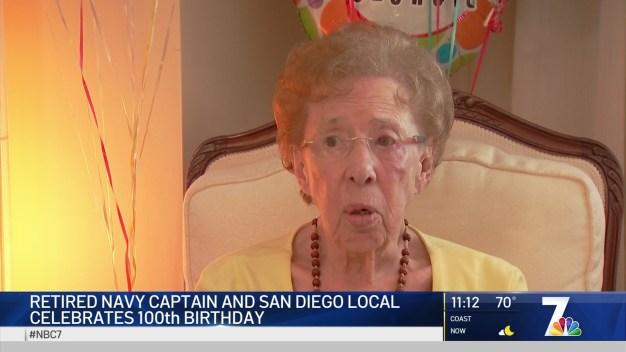 Retired Navy Captain Celebrates 100th Birthday