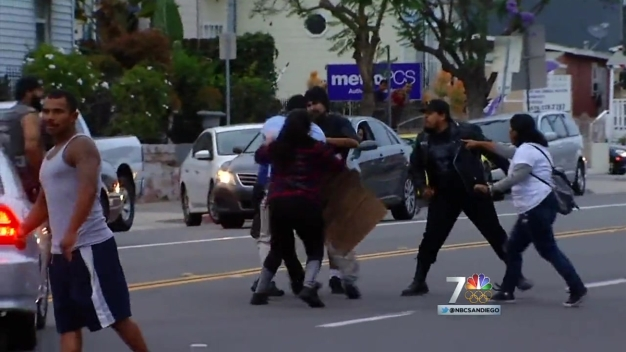 35 Arrested in Trump Rally Protests in San Diego