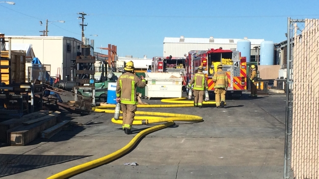 2 Injured After Leak Sparks Flash Fire Inside Business