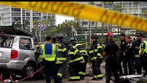 1 Killed in 3-Car Crash in Coronado