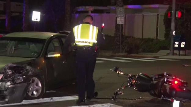 1 Suspected of DUI After Pair of Crashes in PB