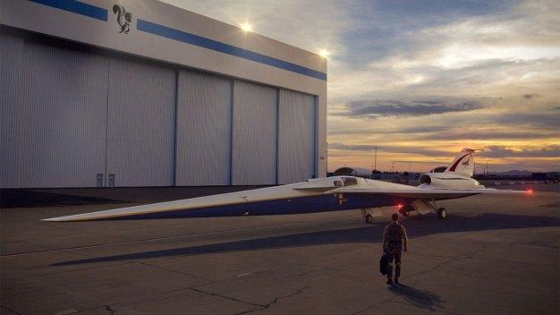 Lockheed Martin Starts Production of Supersonic Plane