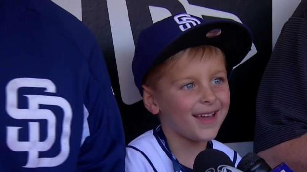 Make A Wish Kid Gets To Be Padre for a Day