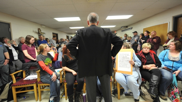 Lawmakers Pressed on Trump Policies at Town Halls