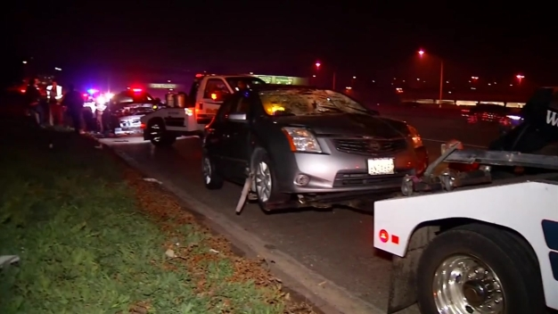Man Struck by Car on I-8