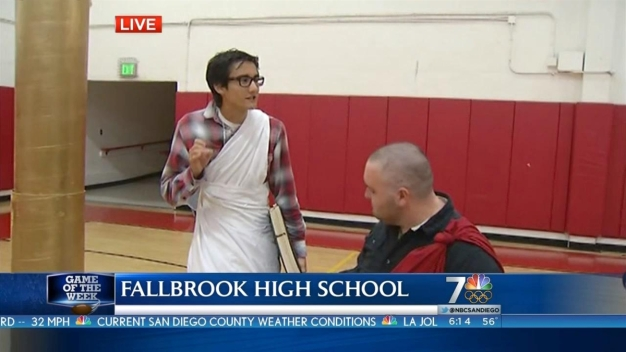 Fallbrook Warriors Prep for Game of the Week
