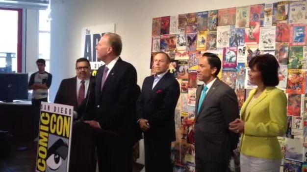 Mayor Announces Comic-Con Extension