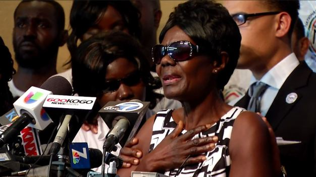 Family of Alfred Olango Addresses COmmunity