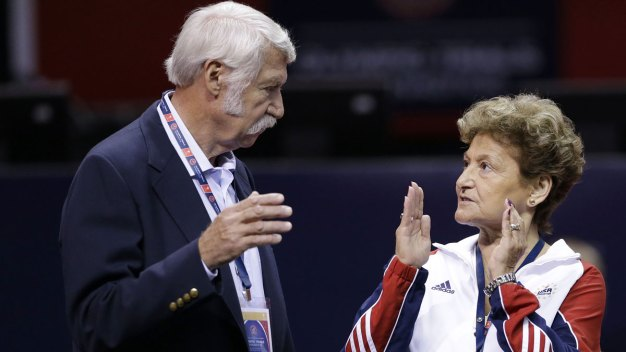 Famed Team USA Gymnastics Coaches Deny Knowing of Abuse