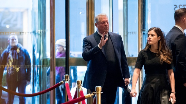 Al Gore Has 'Extremely Interesting Conversation' With Trump