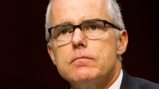 Read McCabe's Full Statement on His Termination From the FBI