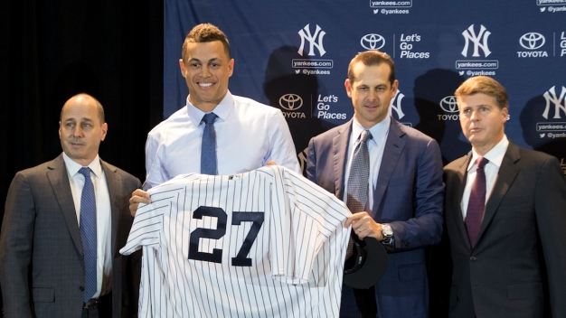 He's a Big Hit: Yankees Get NL MVP Stanton From Marlins