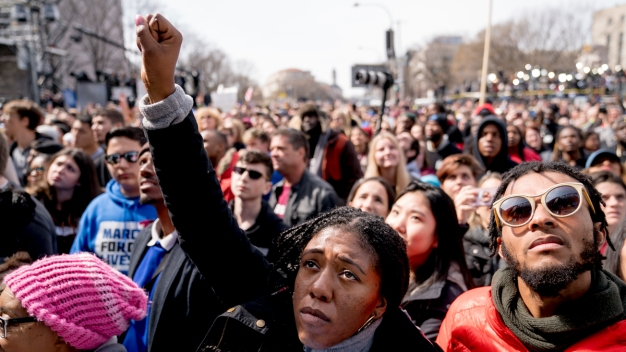 Protesters Flood Cities Nationwide for March for Our Lives