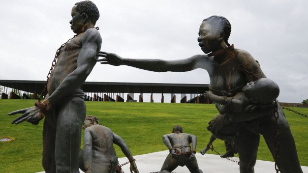 New National Lynching Memorial Evokes Terror of Victims