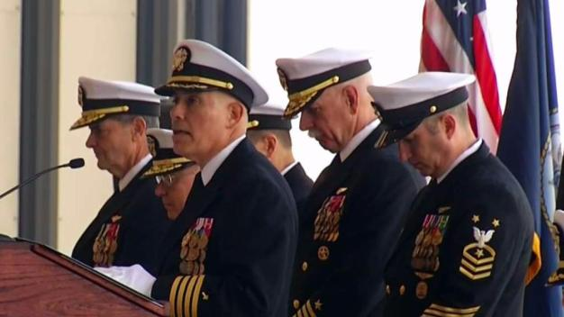 Air Boss Change of Command Ceremony Held on NAS North Island