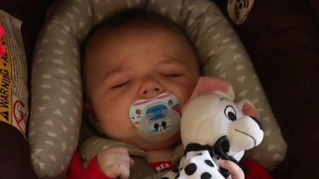 Baby Born With SDFD Help Meets First Responders