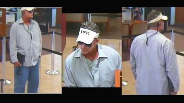 Men Sought in 4 Bank Robberies