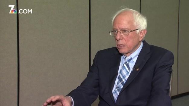 Politically Speaking: Sen. Sanders on Culture of Gun Violence