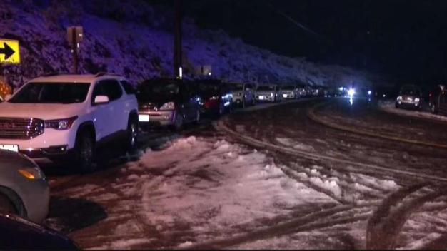 I-8 Reopen After Nearly Half-Day Closure Due to Ice, Snow