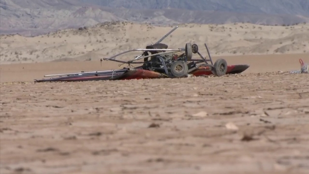 1 Injured When Plane Makes Hard Landing in Borrego Springs