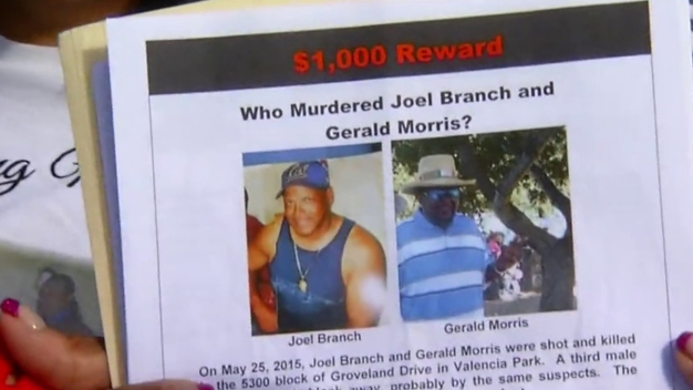 Who Killed Joel Branch and Gerald Morris?