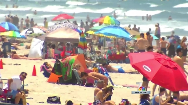 Terrorism Threat Doesn't Deter Beach Goers