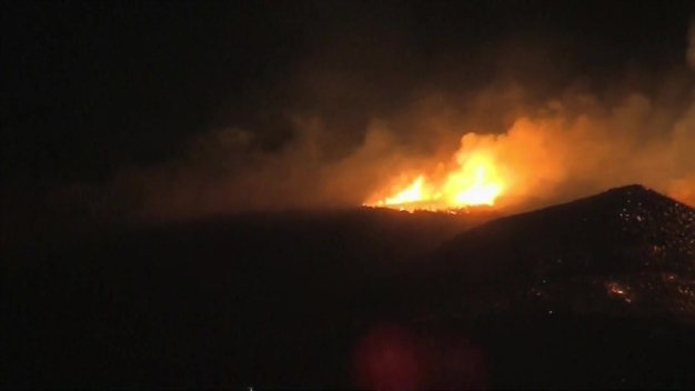 Mandatory Evacuations Ordered in Canyon Fire