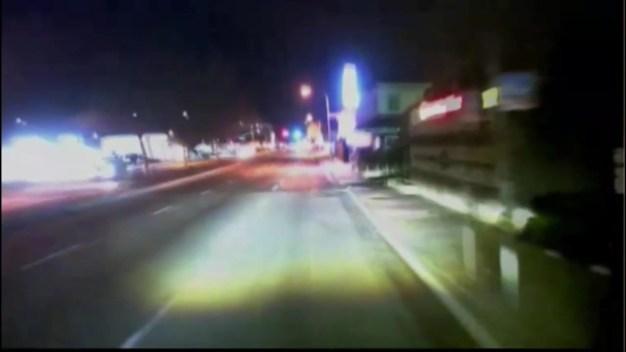 Dash Cam Footage Shows Car Flying into Santa Ana Building