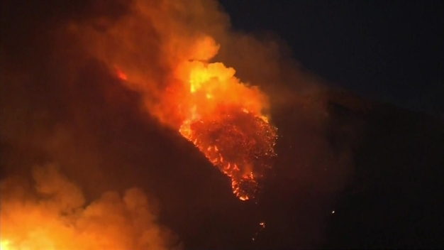 Canyon Fire Scorches Thousands of Acres