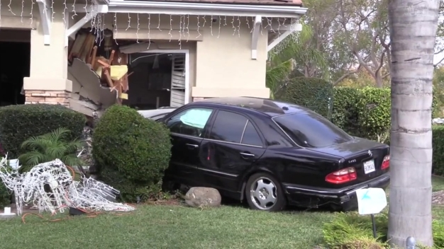 Speeding Driver Plows Into Chula Vista Home