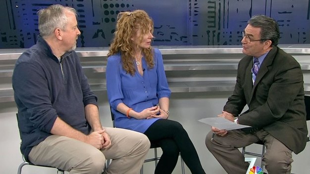 Brent and Kelly King Visit NBC 7