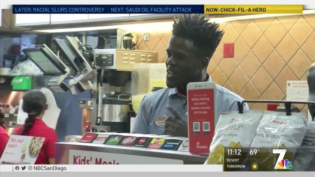 Chick-fil-A Employee Recognized as Hero