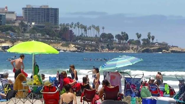 Chilly Water and Rip Currents Predicted for Weekend
