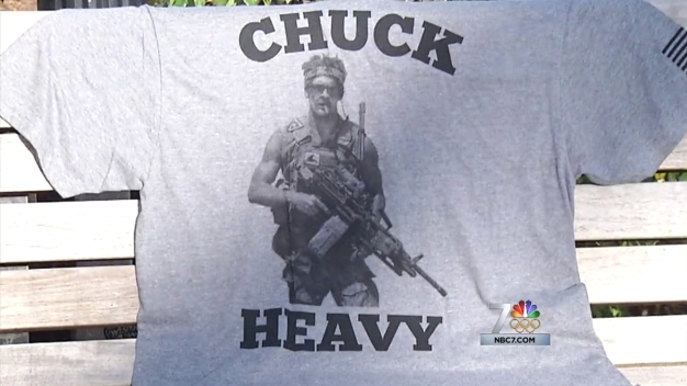 'Chuck Heavy' Shirts Honor Slain Navy SEAL