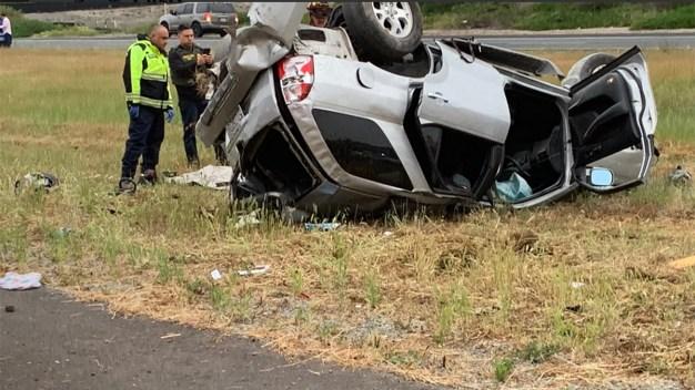 1 Dies in Rollover Crash During Border Patrol Pursuit