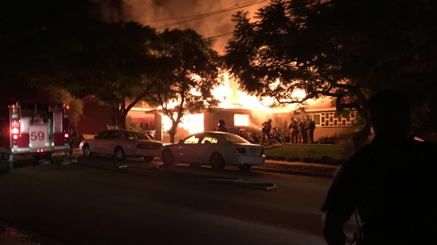 Neighbor Warns Chula Vista Family of House Fire