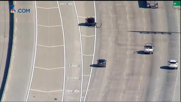 Driver Leads Police Pursuit on 3 San Diego Freeways