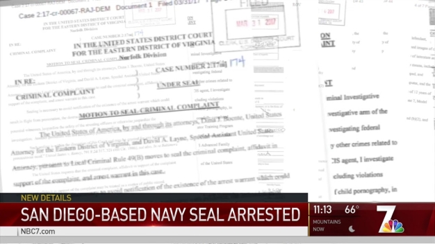 Navy SEAL Accused of Possessing Child Pornography