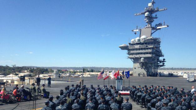 Defense Secretary Carter Discusses Asia Pacific in Coronado