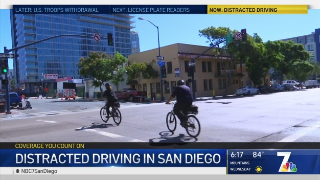 Distracted Driving Citations Down in San Diego