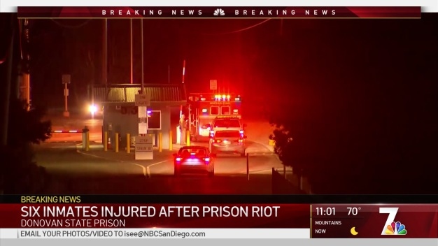 Fight on Rec Yard at Donovan State Prison Leads to Riot: CDCR