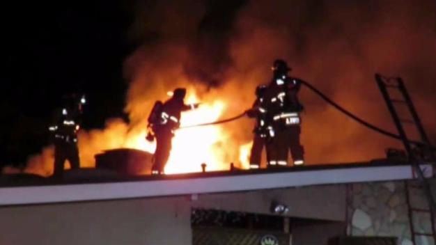 Fire Damages 2 Chula Vista Homes
