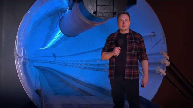 Elon Musk Unveils Tunnel System to Beat 'Soul-Destroying Traffic'