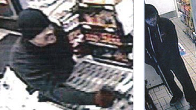 2 Men Sought in Armed Robbery Series